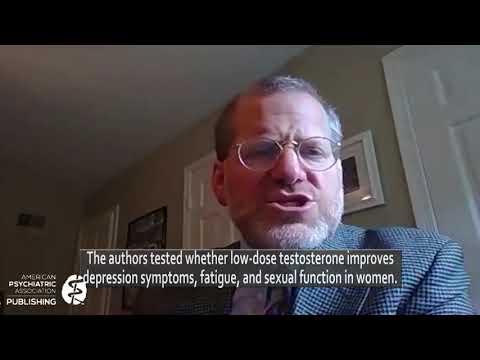 October 2020 AJP Editor Spotlight: Low-Dose Testosterone for Depression in Women