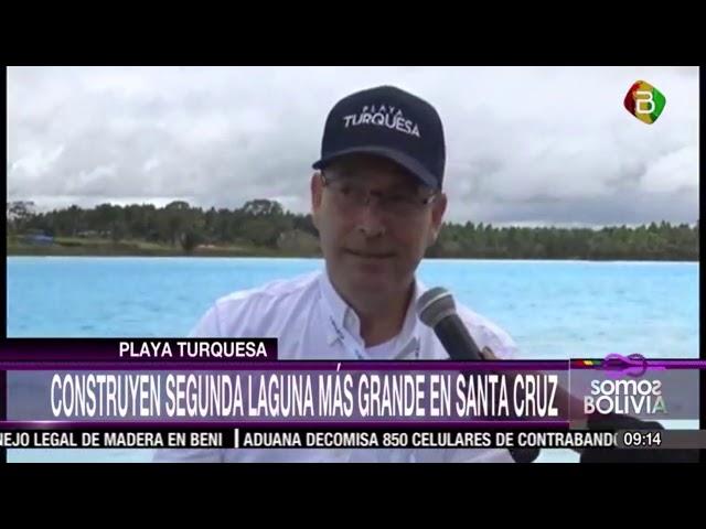 Reportaje de Playa Turquesa emitido por Bolivia TV