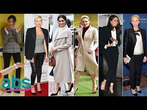 Has Meghan taken style inspiration from Princess Charlene of Monaco?  | ABS US  DAILY NEWS
