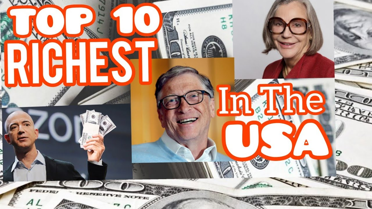 Top 10 Richest People in the USA 2021