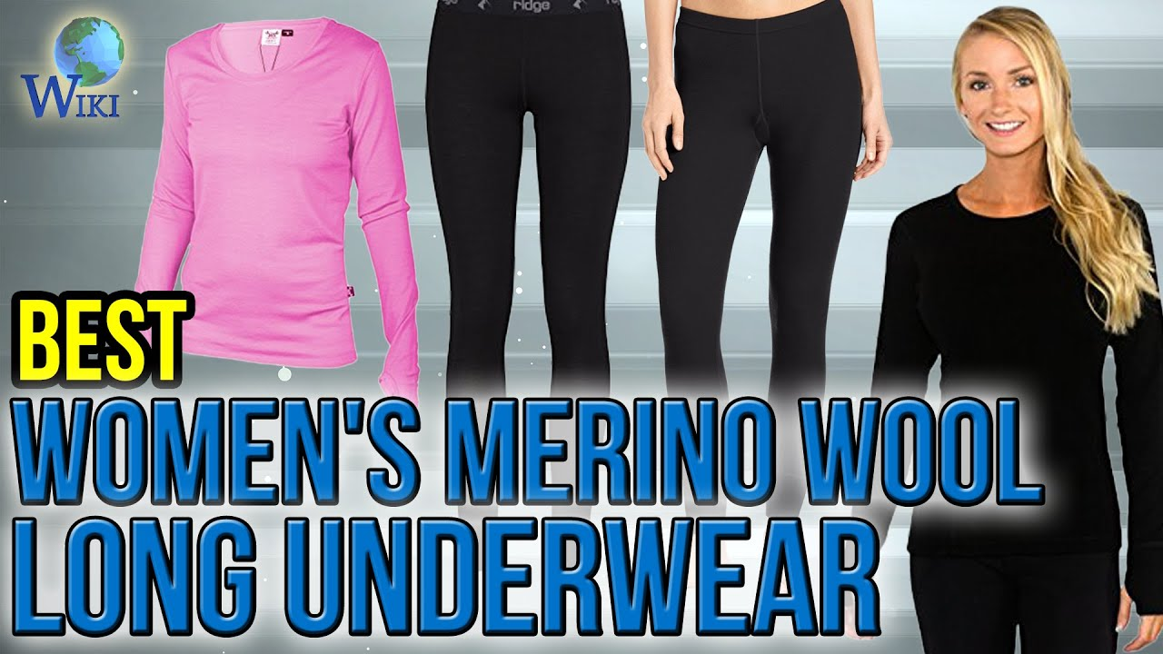 7 Best Women's Merino Wool Long Underwear 2017 - YouTube