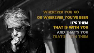 Bon Jovi- Story Of Love (Lyric Video0
