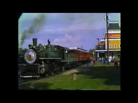 1982 Conway Scenic Railfan Day. Steam and Diesel!   North Conway,NH  Part 1