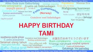 Tami   Languages Idiomas - Happy Birthday
