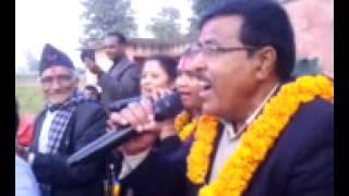 Narendra Raj Regmi at Pahalmanpur...