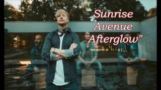 Sunrise Avenue - Afterglow LYRICS
