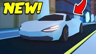 Roblox Jailbreak NEW MCLAREN SUPER CAR!! FASTEST CAR IN THE GAME!? (Roblox Jailbreak Update)