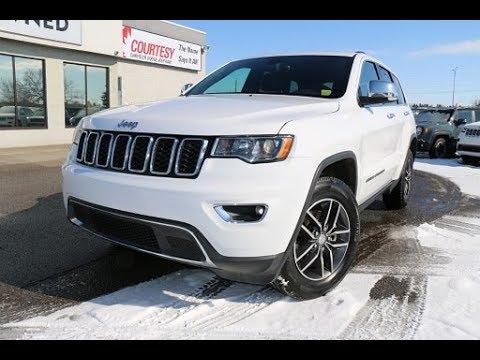 White Grand Cherokee >> Brand New 2018 Jeep Grand Cherokee Limited Bright White Courtesy Chrysler
