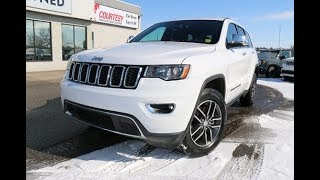 2018 Jeep Grand Cherokee Limited | Bright White | Courtesy Chrysler