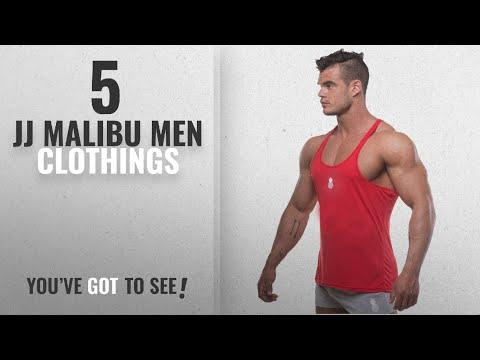 ce8f872ef51 Top 10 Jj Malibu Men Clothings [ Winter 2018 ]: JJ Malibu Pop Color Gym  Racerback Tank-Top Stringer - YouTube