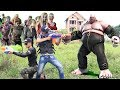 Superhero action S.W.A.T & Super Girl Nerf guns Zombies & Joker Nerf war