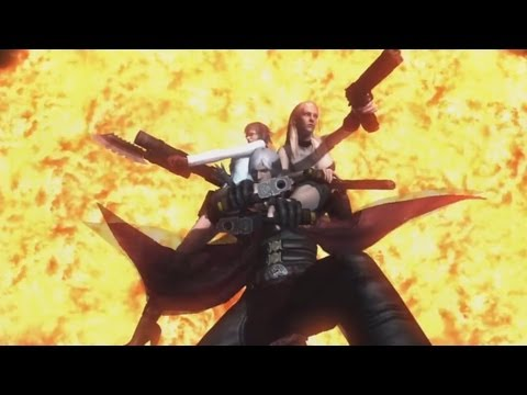 Devil May Cry 4 Dante Cool Cutscenes Movie + Combos Gameplay Exhibition - Part 1 [HD]