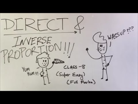 Download Direct and Inverse Proportions - ep01 - BKP   Class 8 maths ncert full ch explanation in hindi cbse