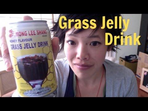 Tasting Grass Jelly Drink - Thirsty #5