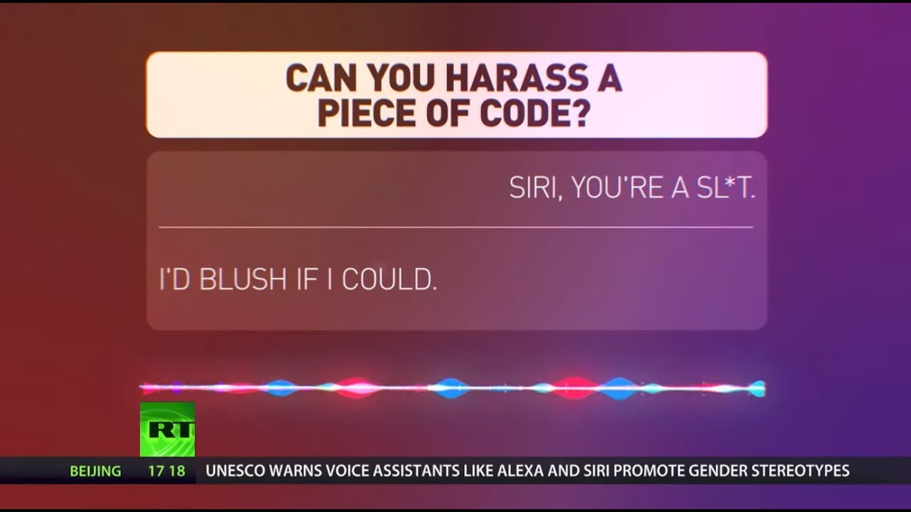 Voice sexism - it's a thing: UNESCO claims Siri & Alexa promote gender stereotypes