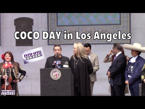 Disney Pixar's 'COCO DAY' Press Conference At Los Angeles City Hall