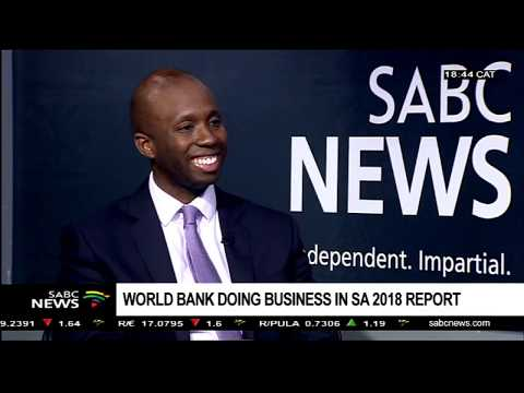 World Bank doing business in SA 2018 report: Moussa Traore