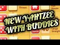 NEW YAHTZEE WITH BUDDIES Fun Game For Friends Free Mobile Game Android Ios Gameplay Youtube YT Video
