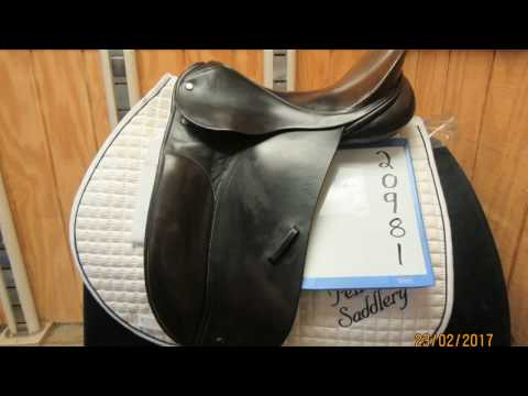 "County Competitor Used Dressage Saddle 16.5"" M 20981"
