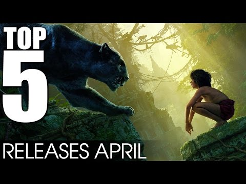 Top 5 Movie Releases April 2016 - What are you going to watch? [HD]