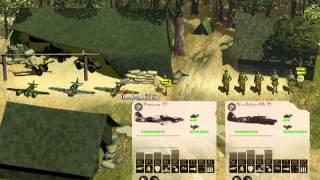 Panzer General 3D Assault - Montgomery s15 - Rangers lead the way.