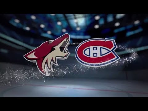 Arizona Coyotes vs Montreal Canadiens - Nov. 16, 2017 | Game Highlights | NHL 2017/18. Обзор матча