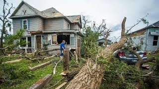Tornadoes leave damage, culminating a State of Emergency in Hamburg, New York