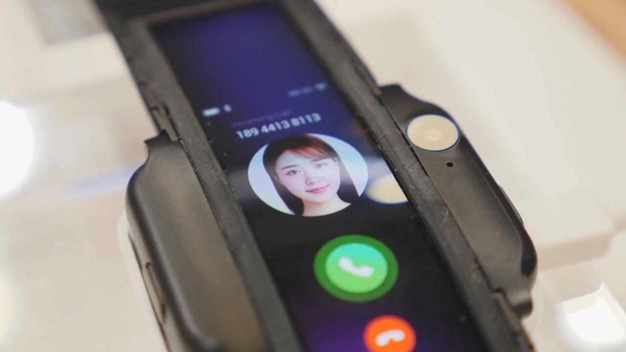 Это первый в мире гибкий смартфон