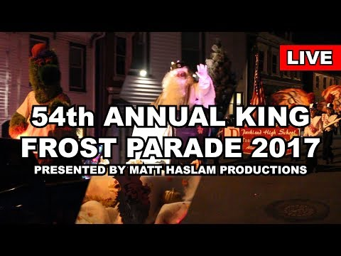 LIVE: 54th Annual King Frost Parade 2017, Hamburg, PA - Presented by MHP