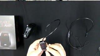 에스전자 포터블 멀티 앰프 무선, 유선 마이크 사용방법