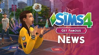 The Sims 4 Get Famous News: FIRST SCREENS AND INFO!