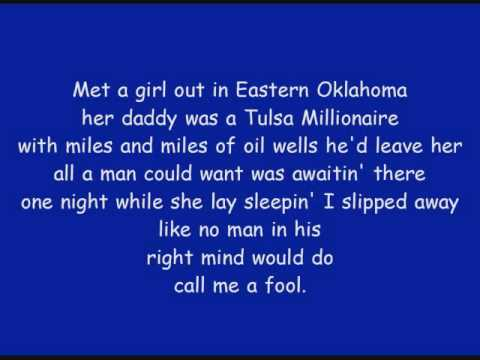 Mark Chesnutt - Blame It On Texas with lyrics