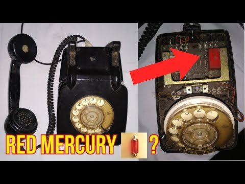 Red Mercury | Red Mercury in Old Telephone | Radio, TV | Where and How to Find?