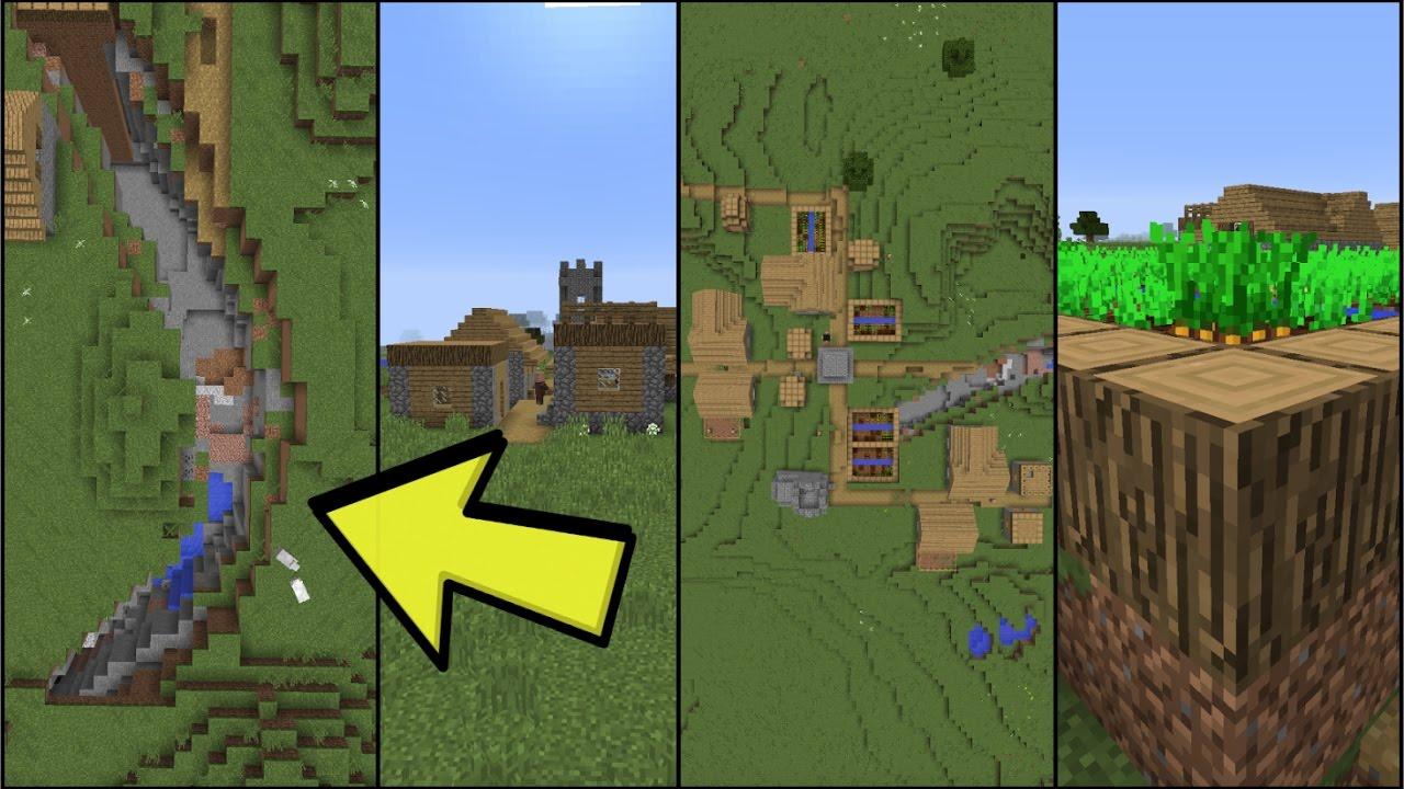 Village In Ravine Seed Minecraft 111