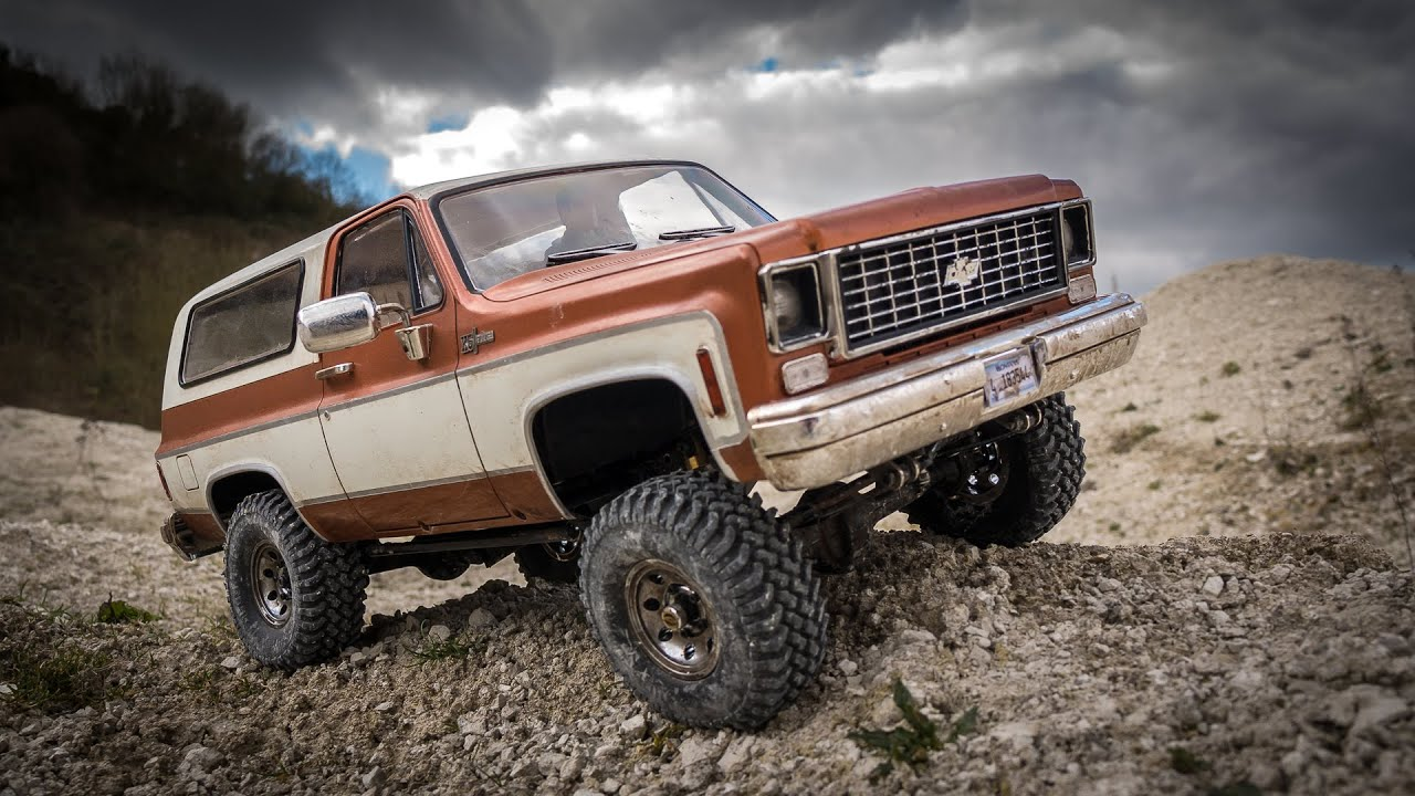 RC Scale 4x4 Off Road - Chevy Blazer Quarry Run - RC4WD ...