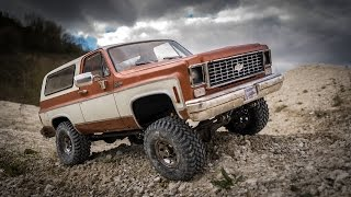 RC Scale 4x4 Off Road - Chevy Blazer Quarry Run - RC4WD