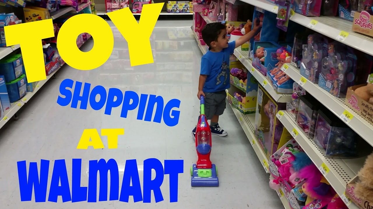 walmart toy shopping vacuum police car fire truck john