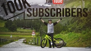 My backflip record over a mini ramp in one minute - 100K Special