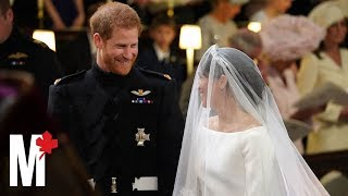 """I will."" Watch Prince Harry and Meghan Markle take their wedding vows"