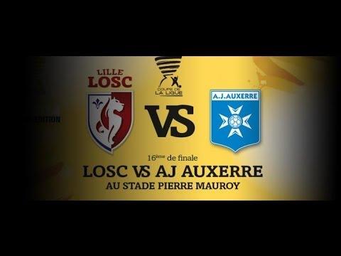 Lille osc aj auxerre fifa 14 coupe de la ligue 1 - Resultat 16eme de finale coupe de la ligue ...