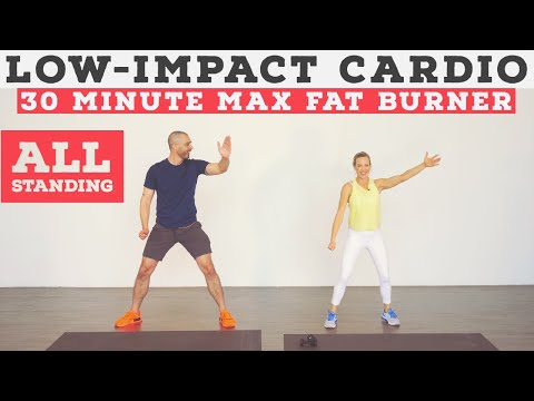 Low impact cardio workout for ALL fitness levels no equipment, at home!