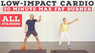 Low impact cardio workout for ALL fitness levels - no equipment, at home!