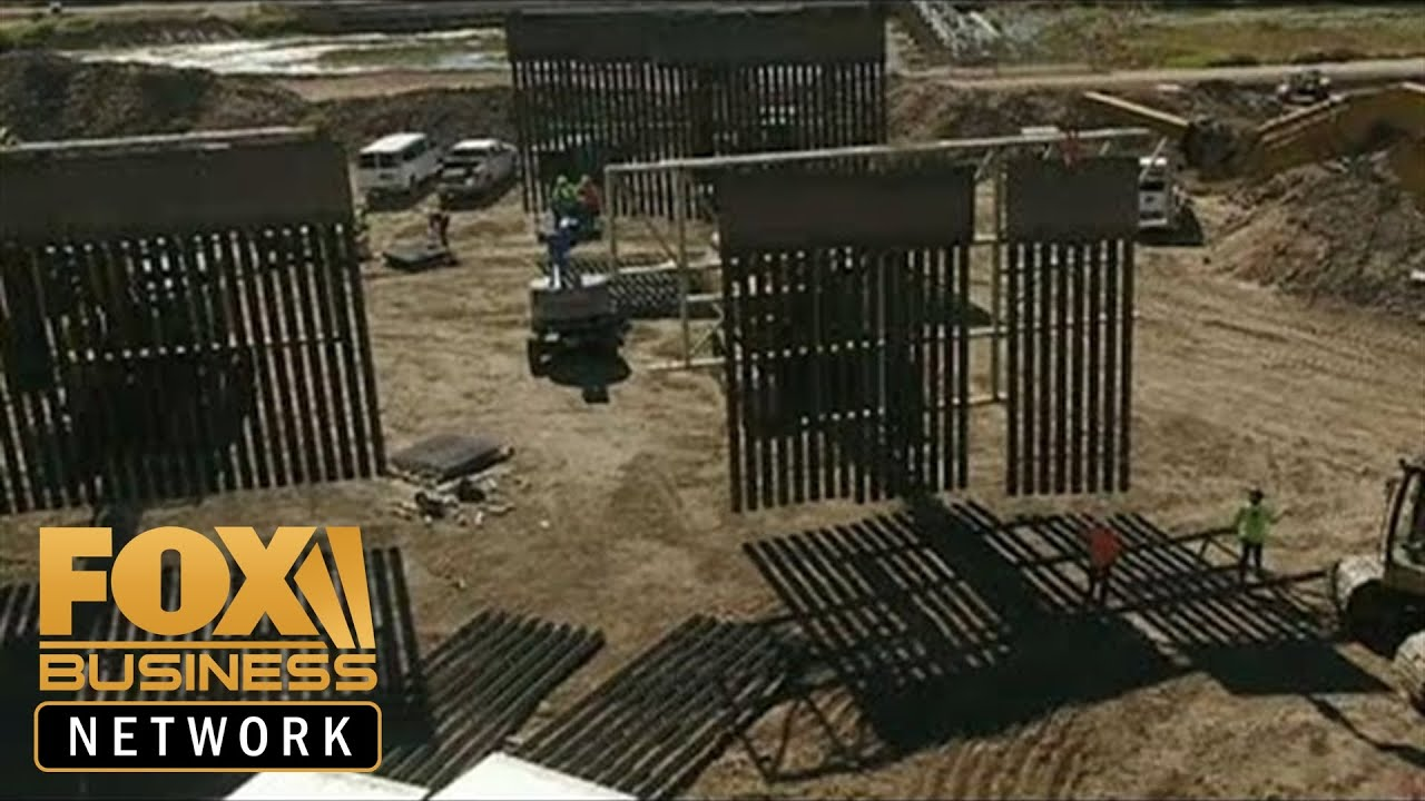 Private organization built a half-mile border wall in El Paso, Texas