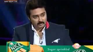 PRASANNA ABOUT KAMARAJAR IN VIJAY TV அறிவுச்சுடர் காமராஜர்