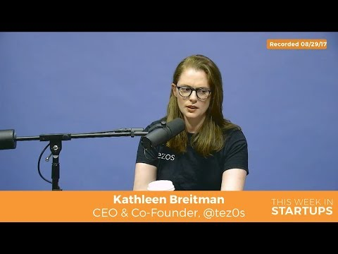 Tezos Kathleen Breitman on cypherpunks & crypto-anarchy & world-changing potential of cryptocurrency