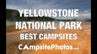 Yellowstone National Park Best Campsites
