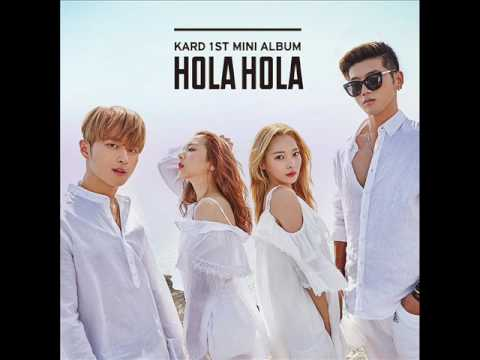 KARD - 난 멈추지 않는다 (I Can't Stop) (MP3 Audio) [KARD 1st Mini Album `Hola Hola`]