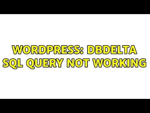 WordPress database error multiple primary key defined for query