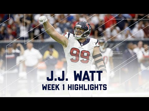 J.J. Watt Highlights | Bears vs. Texans | NFL Week 1 Player Highlights
