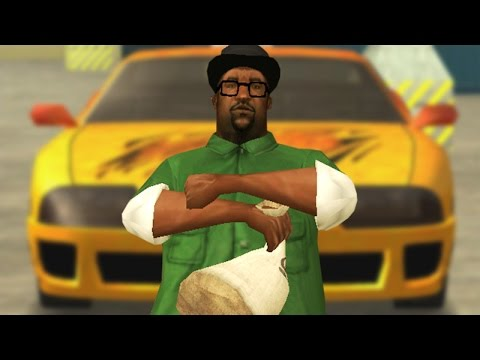 Big Smoke buys a car